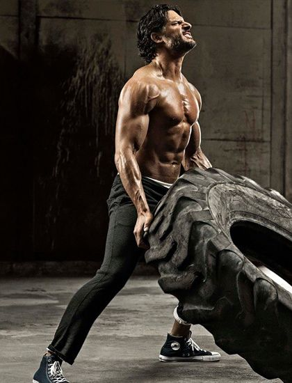 Joe Manganiello Men's Health UK. Crossfit, the best way to get in shape for the summer!