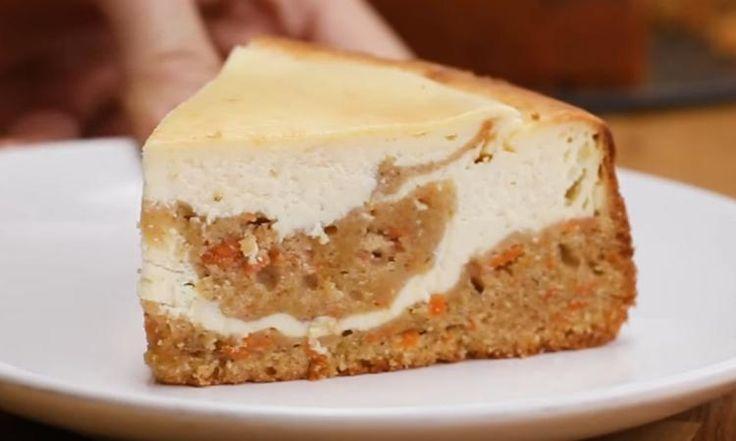 Un rêve devenu réalité... Le gâteau au fromage et le gâteau aux carottes sont enfin réunis