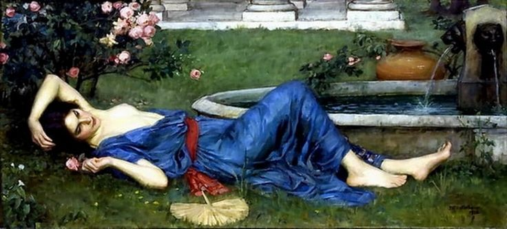 Sweet Summer John William Waterhouse