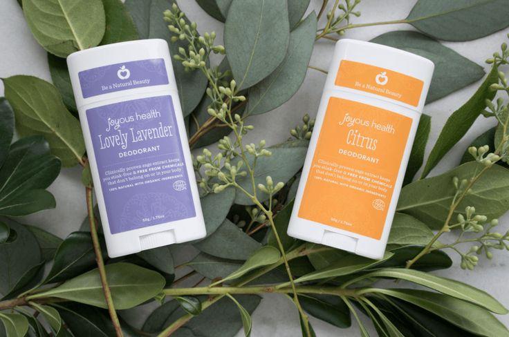 Natural Non-Stick Deodorant Stick – Lovely Lavender and Citrus!