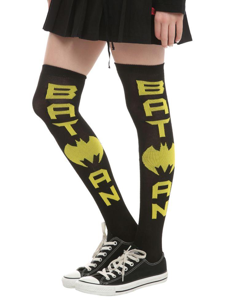DC Comics Batman Knee-High Socks | Hot Topic