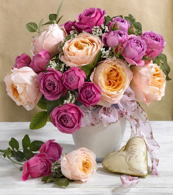 Открытка цветы с днем рождения пионы женщине