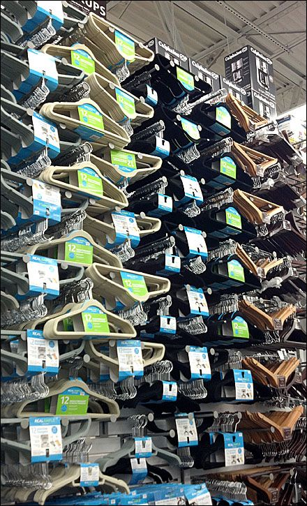 If you have extra clothes hangers around, ask around at local dry cleaners and see if they could take them off your hands. They need a lot of hangers for business and that way, they would get used instead of trashed.