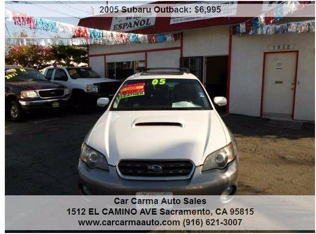 #HellaBargain 2005 Subaru Outback Automatic 5-Speed Sacramento: $6,995.00  www.hellabargain.com