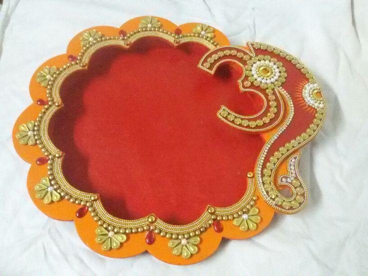 woodan aarti thali