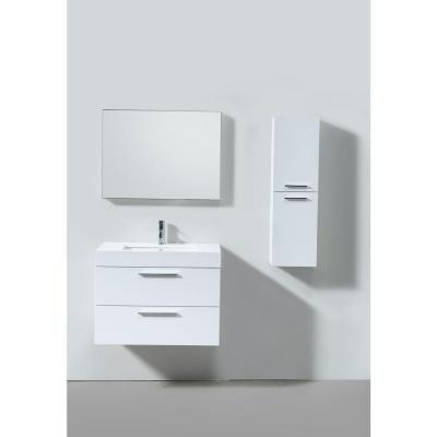 Pics Of Single Basin Vanity Gloss White with