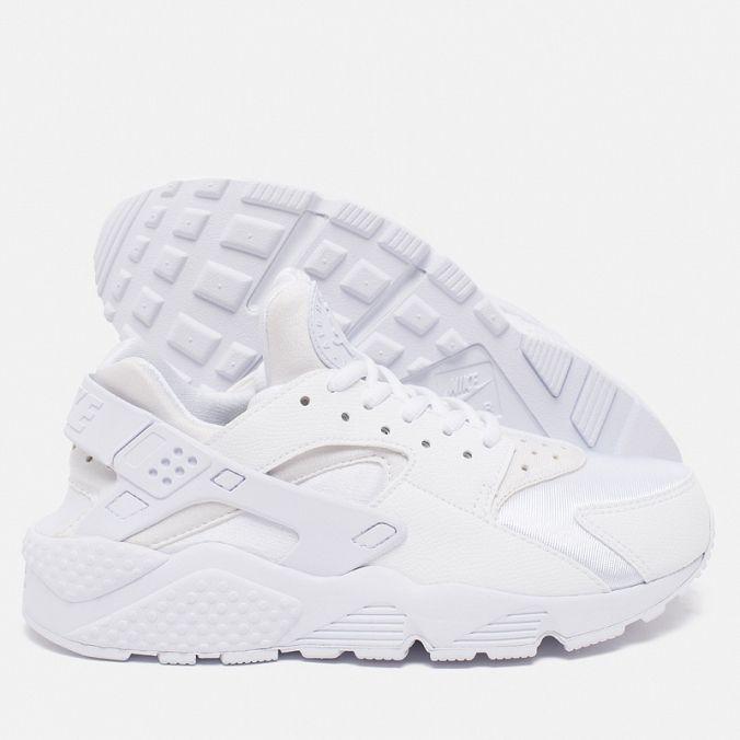 Женские кроссовки Nike Air Huarache Run White