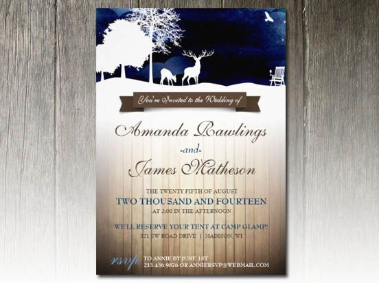 Camping Wedding Invitations: 1000+ Images About Camping Wedding Theme On Pinterest