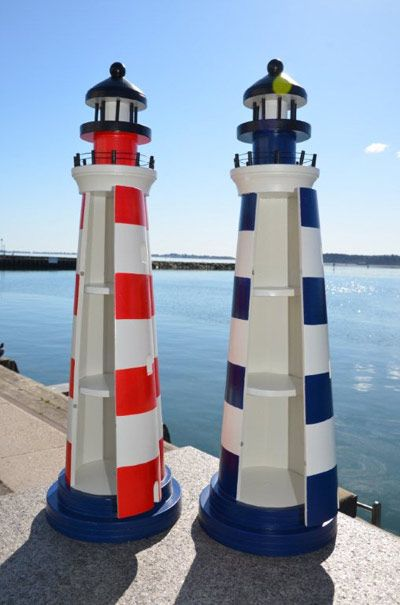 Lighthouse Seaside And Coastal Decor Maritime Themed Gifts For Home Bathroom Garden Or Boat