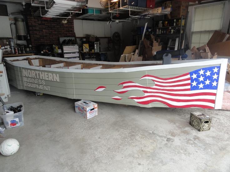 Best 28 cardboard boat races ideas on pinterest for Boat garage on water