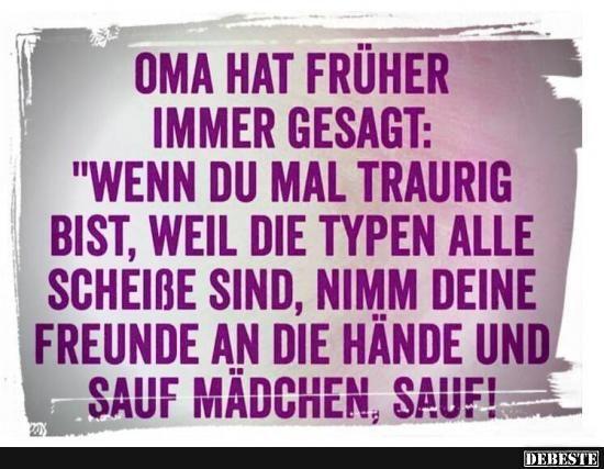 Oma hat früher immer gesagt.. | DEBESTE.de, Lustige Bilder, Sprüche, Witze und Videos