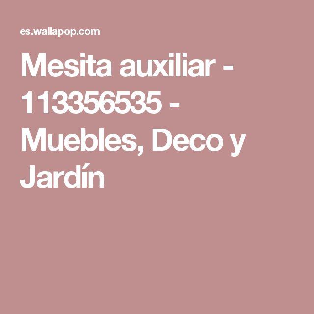 Mesita auxiliar - 113356535 - Muebles, Deco y Jardín