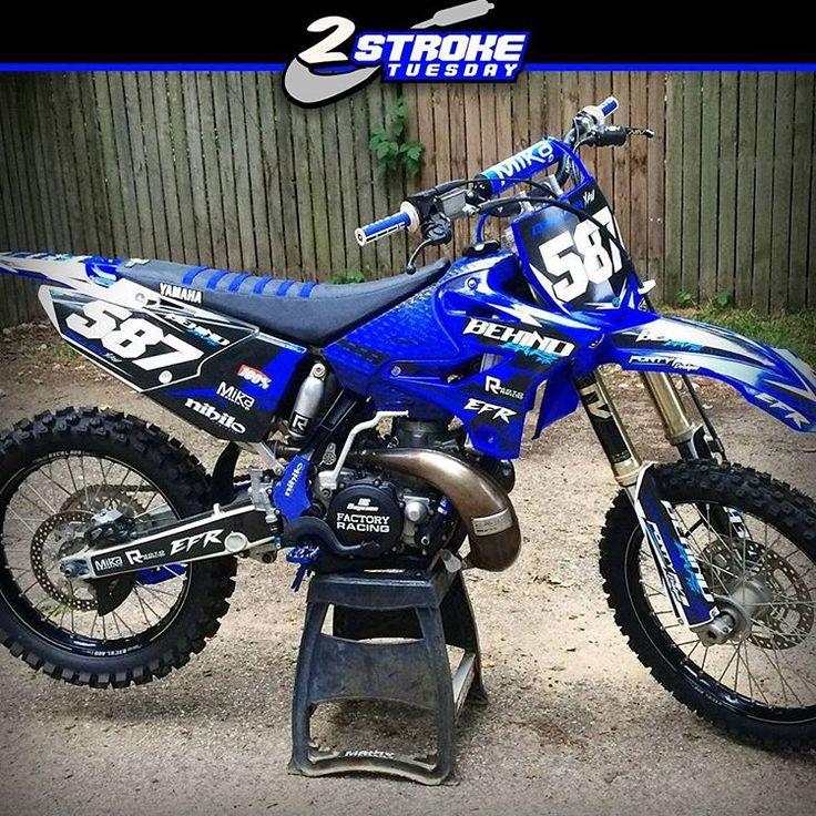 Hot or Not? Yamaha by @wildman587 #hotornotmx #dirtbike #yamaha #motocross #2stroke #yz125 #yz250 #dirtbikes #mxlife #2stroketuesday