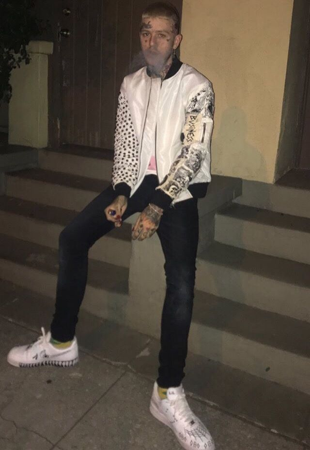 Pin by Anita on LILPEEP in 2019   Lil peep hellboy, Little