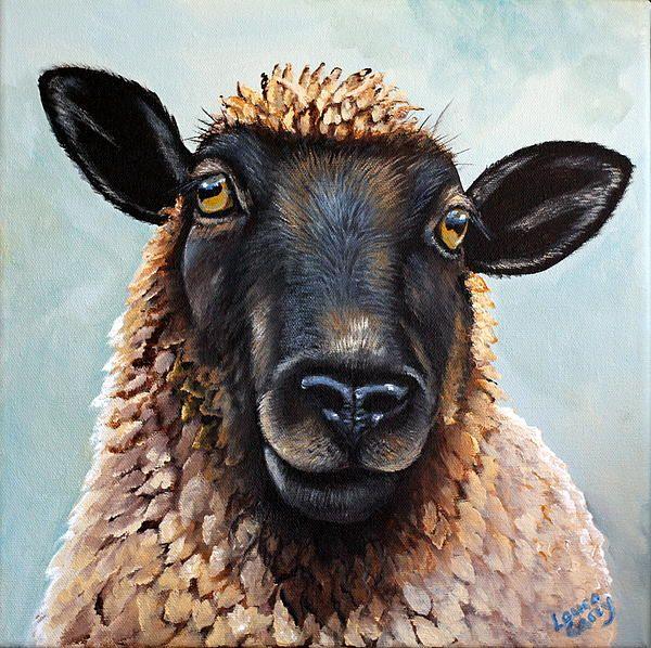 Sheep Paintings, Sheep Art