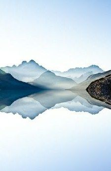Dolomites Mountain Range in Italy