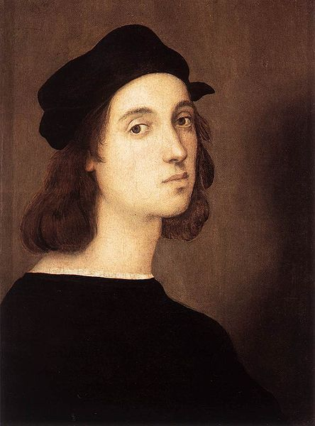 Self Portrait of Raffaello Sanzio da Urbino (1483-1520) known as Raphael was an Italian painter and architect of the High Renaissance. Description from pinterest.com. I searched for this on bing.com/images