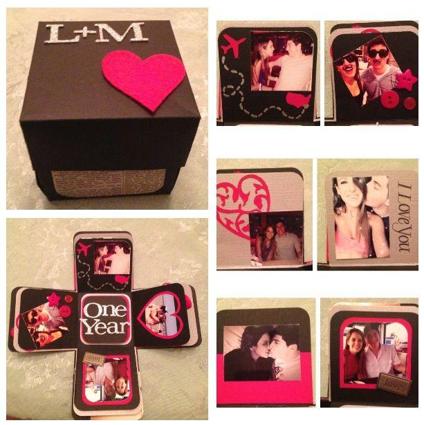 caja de sorpresas para el aniversario!