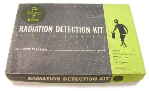 Library of Science Radiation Detection Kit (ca. 1958)