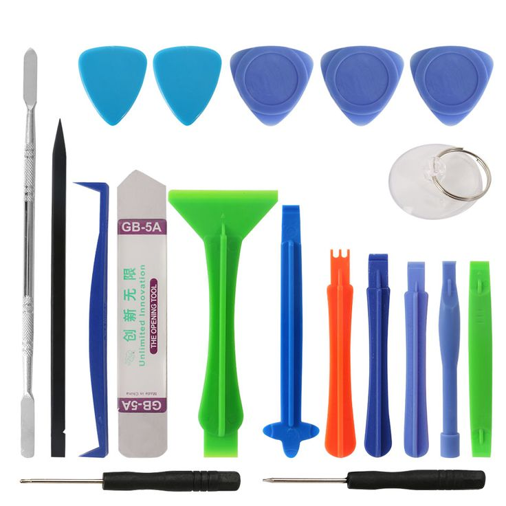 5.45$ (More info here: http://www.daitingtoday.com/diyfix-19-in-1-opening-tool-metal-pry-bar-smartphone-disassemble-repair-tools-kit-for-iphone-samsung-hand-tool-set ) DIYFIX 19 in 1 Opening Tool Metal Pry Bar Smartphone Disassemble Repair Tools Kit for iPhone Samsung Hand Tool Set for just 5.45$