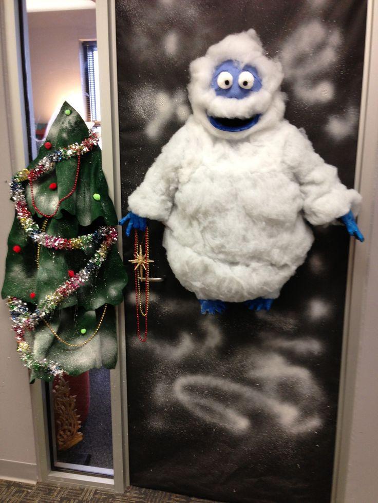 D Christmas Door Decorating Ideas