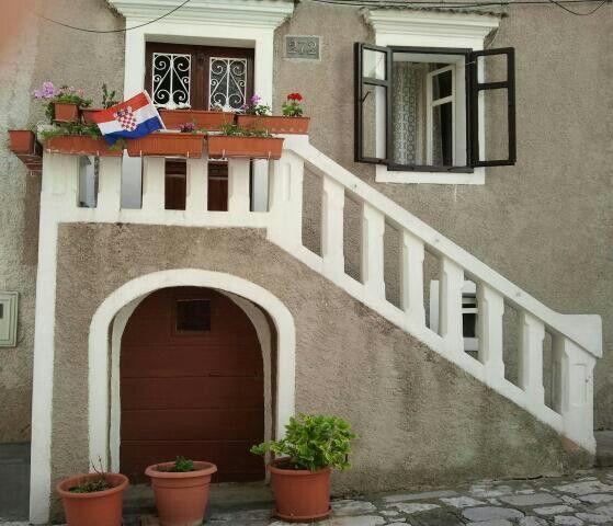 Door and windows in Bakar, Croatia photopraphed by Martie van Niekerk