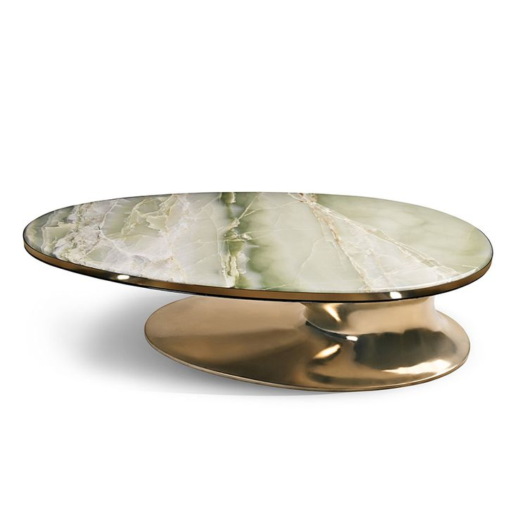 Coffee Tables & Cocktail Tables - ONYX ELLIPTICAL COCKTAIL TABLE