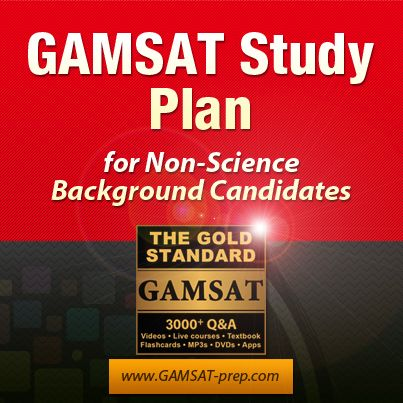GAMSAT preparation for students with non-science background is quite possible with an efficient study plan. Learn more about our 70/30 formula and other strategies for a successful GAMSAT prep for non-science bacground candidates: http://www.gamsat-prep.com/non-science-background-gamsat-preparation