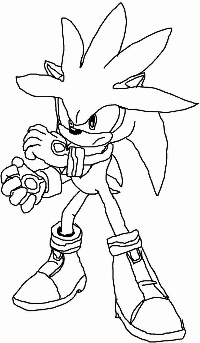Silver The Hedgehog Coloring To Print Bing Images Coloring