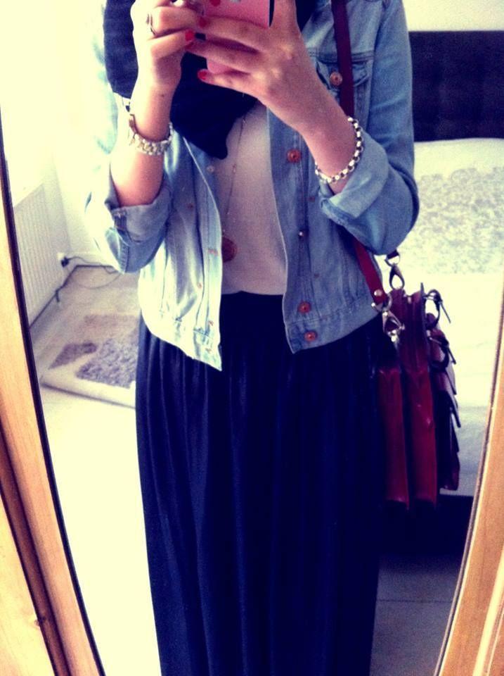 Mon style ! White&blue ♥