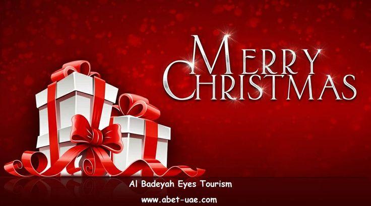Merry Christmas To All :)  Al Badeyah Eyes Tourism  www.abet-uae.com