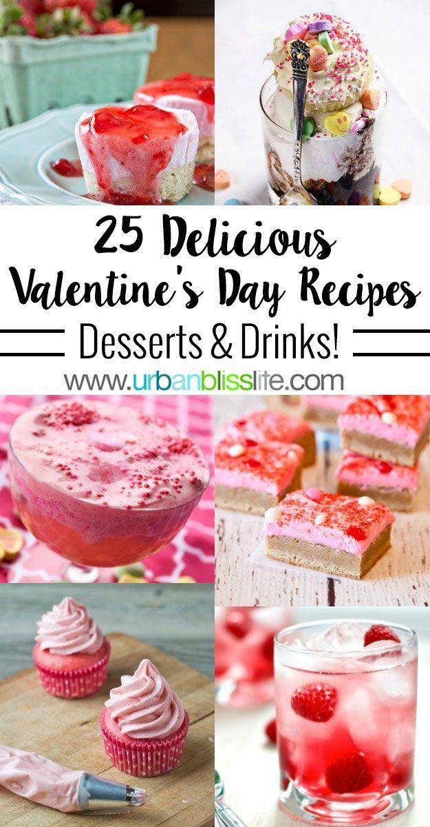 25 Kostliche Valentinstag Desserts Und Getranke Glucklich
