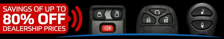 Now you can get up to ^80%^ discount on delearship prices for keyless car remotes. Hurry Up !!! Limited Offer!!!