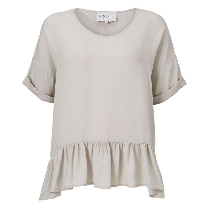 Momo T shirt - light grey