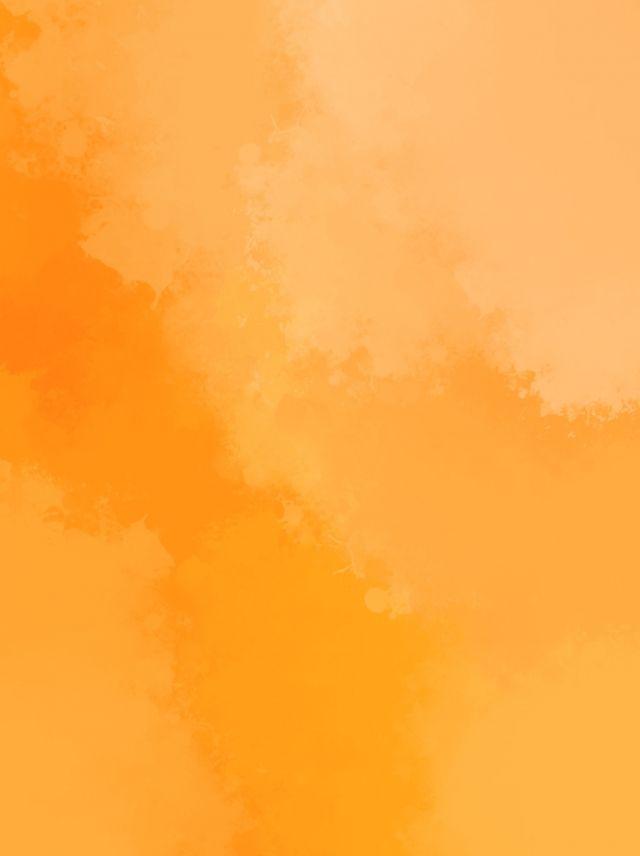 Orange Watercolor Advertising Background Pastel Color Background Orange Artwork Orange Background Best of orange color wallpaper for
