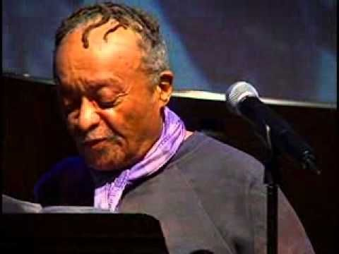 Beautiful Jazz artist Cecil Taylor, poetry recite. Master Class: Cecil Taylor - Poetry and Performance