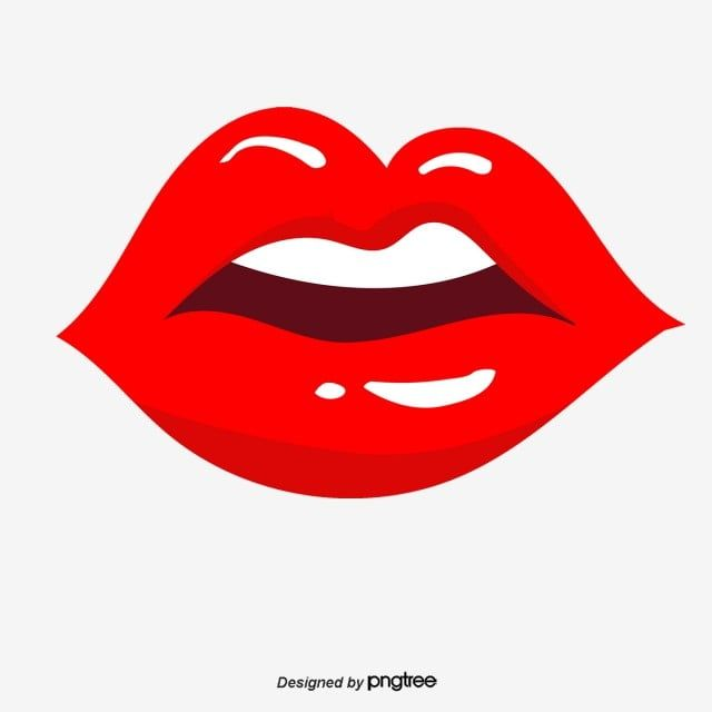 Vector Lip Lips Clipart Pink Red Lips Png Transparent Clipart Image And Psd File For Free Download Pop Art Illustration Kissing Drawing Lips Cartoon