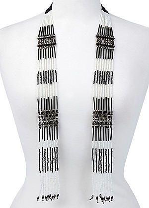 Multi Beaded Drop Necklace #kaleidoscope #new #fashion #spring