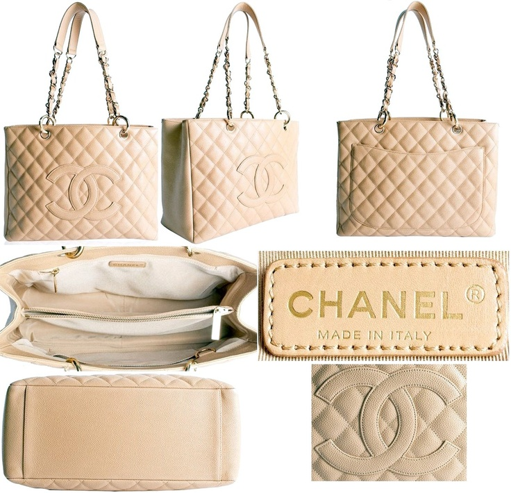 Chanel shopping tote.
