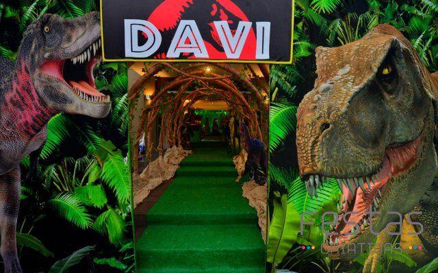 Festa Jurassic Park O Mundo Dos Dinossauros Mais Criativo