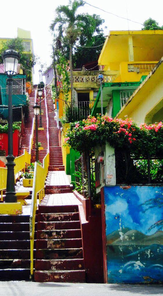 Gurabo, Puerto Rico. El pueblo de las escaleras.
