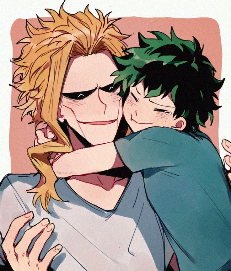 All Might and Izuku. I really like the portrayal of their relationship in MHA. There's an almost equal amount of affection and admiration there and they're basically foil characters for each other.