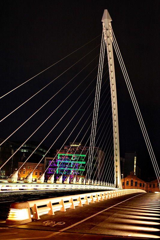 James Joyce Bridge, Dublin  by ilDottore