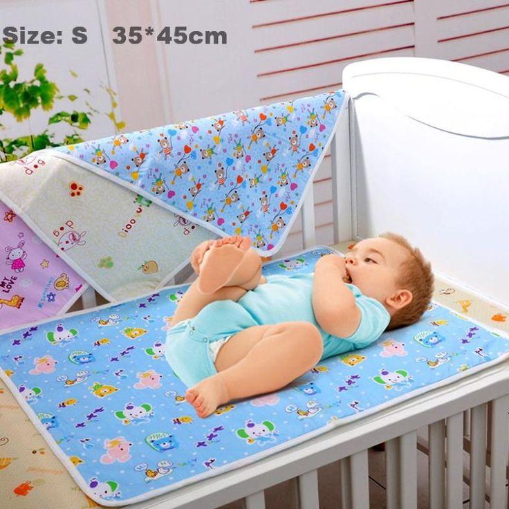 2 Piece Lot Baby Waterproof Reusable Mat Great For Change Burp Pad