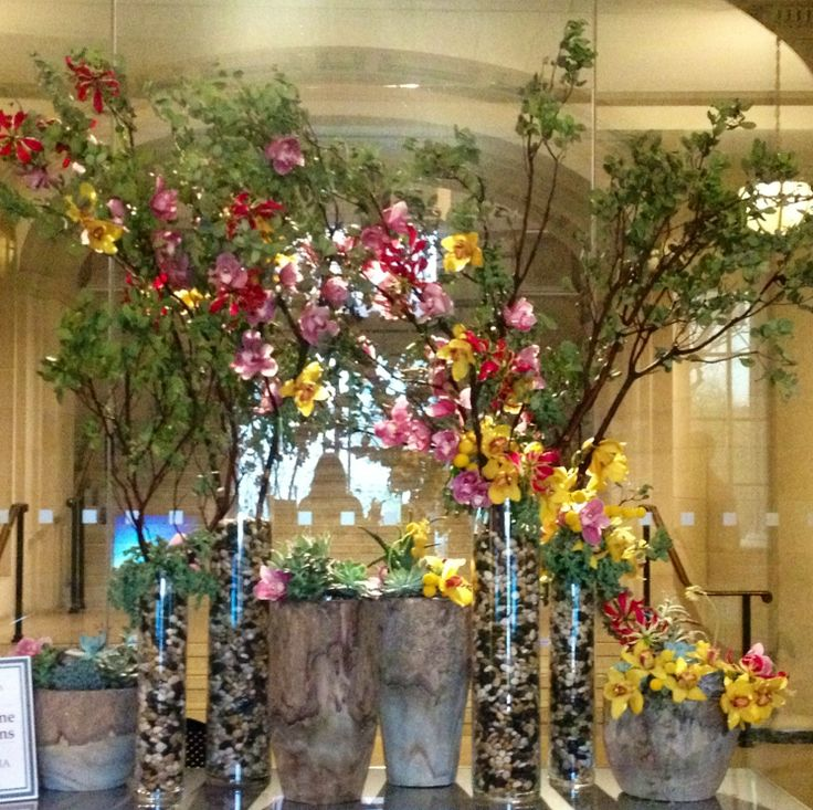 """This year's 2014 """"Art in Bloom"""" at the MFA, Boston. By Orly Khon Floral Boutique."""