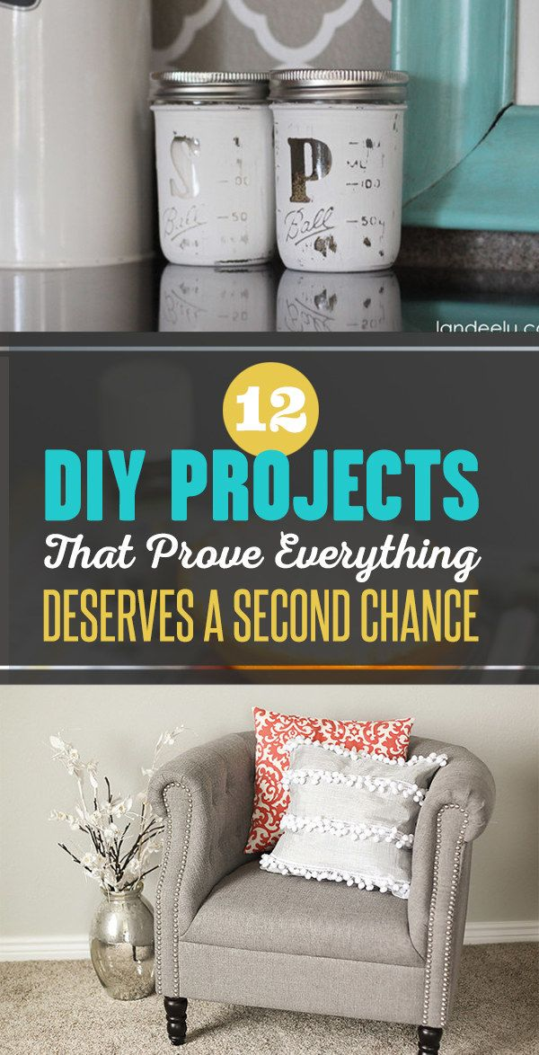 12 DIY Projects That Prove Everything Deserves A Second Chance