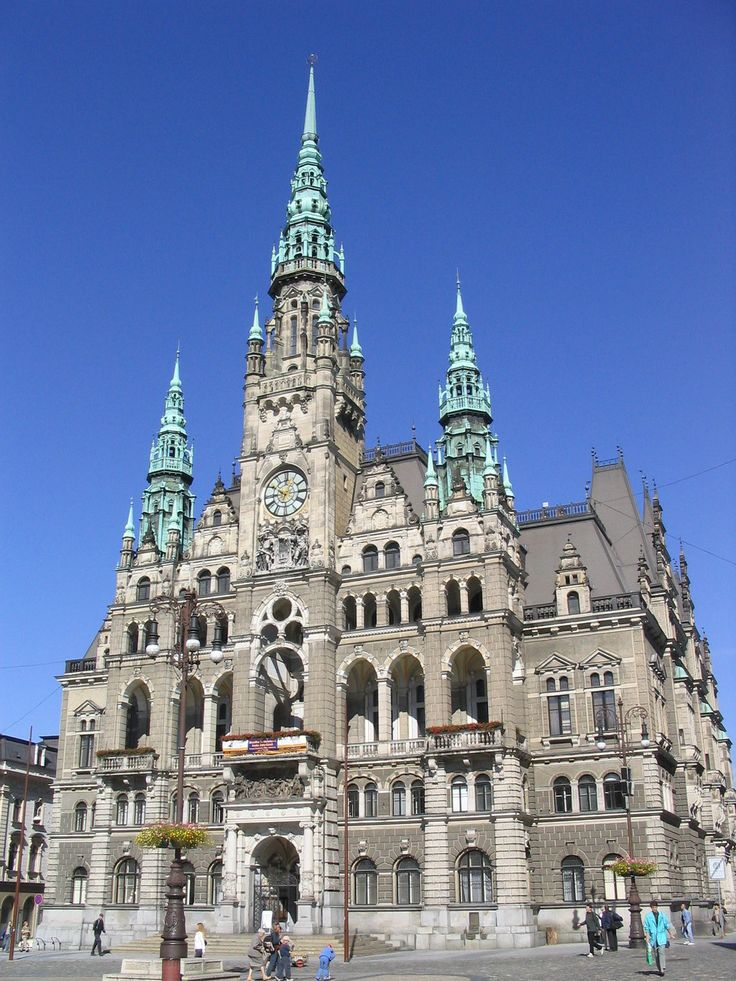 Liberec Town Hall - Czech Republic