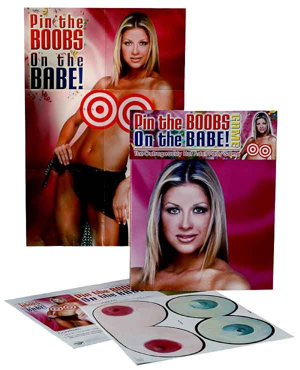 Searching out some fun Bachelor Party Games, well look no further.... the Pin The Boobs on the Babe Game has been the ultimate for more than 15 yrs!!  Makes a fun poster and puts a much more fun twist on that old Pin the Tail on the Donkey game... just with a twist!!  www.BachelorPartyFun.com   www.BachelorettePartyFun.com