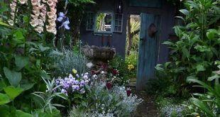 Absolut herrlich, das für mich, ist genau das, was ein Garten wie aussehen soll…