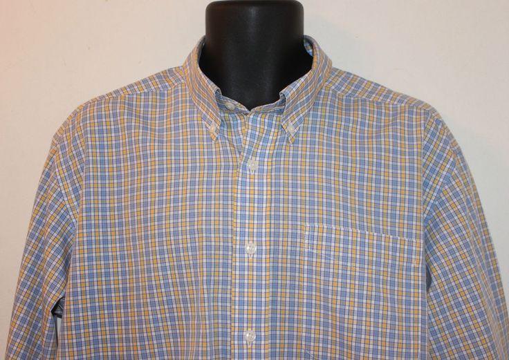 L l bean mens long sleeve wrinkle resistant shirt cotton for Ll bean wrinkle resistant shirts